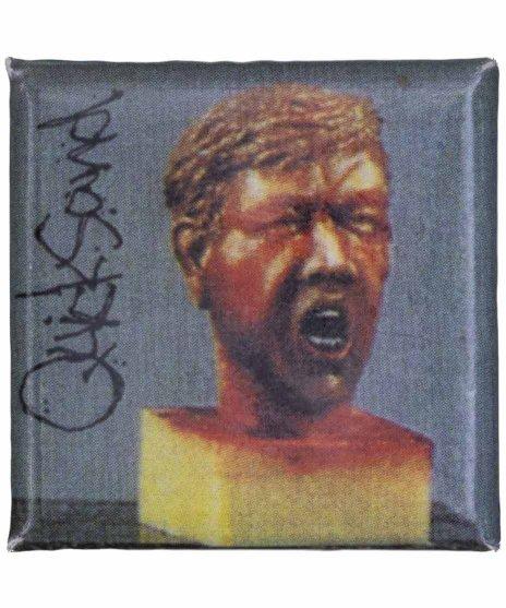 Quicksand ( クイックサンド ) バンド缶バッジ スクエア