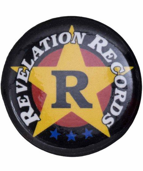 Revelation Records バンド缶バッジ Crest
