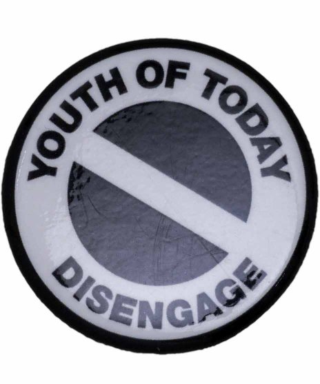 Youth Of Today ( ユースオブトゥデイ ) バンド缶バッジ Disengage