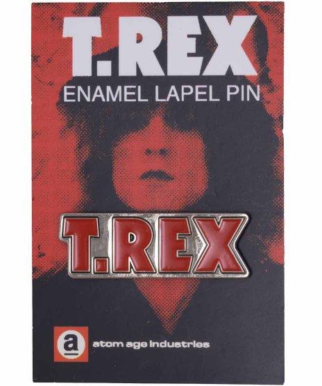 T-Rex バンドピンバッジ バンドロゴ