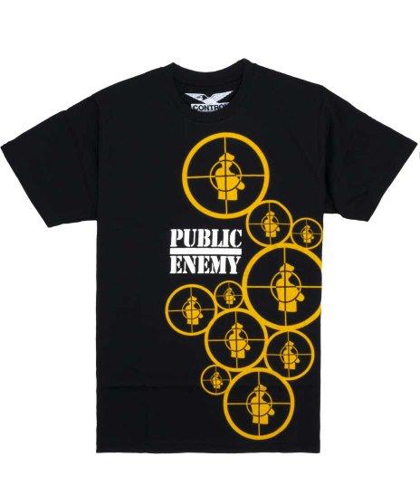 パブリックエネミー ( Public Enemy ) Tシャツ Multi Target