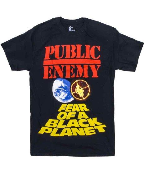 パブリックエネミー ( Public Enemy ) Tシャツ Fear Of A Black Planet
