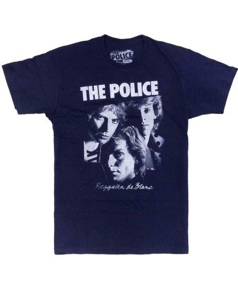 ザ ポリス ( The Police ) Tシャツ Reggatta De Blanc