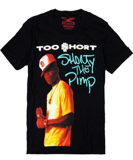 トゥーショート ( Too Short ) Tシャツ Short is Pimp