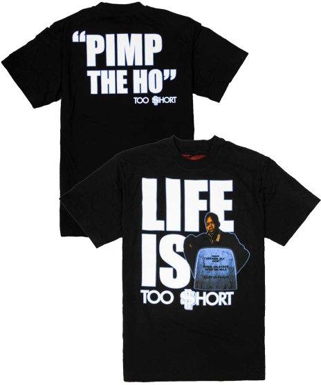 トゥーショート ( Too Short ) Tシャツ Life is Too Short