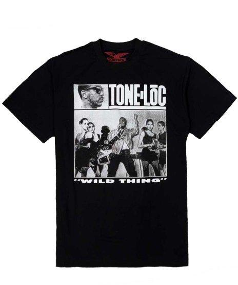 トーン ロック ( Tone Loc ) Tシャツ Wild Thing 【Black】