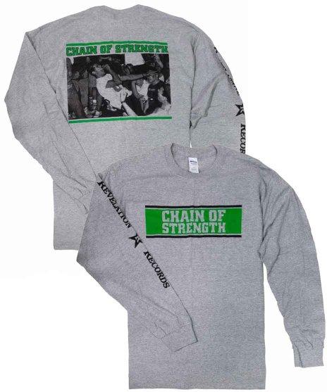 チェーンオブストレングス ( Chain Of Strength ) Tシャツロングスリーブ The One Thing That Still Holds True