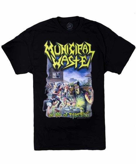 ミュニシパル ウェイスト ( Municipal Waste ) Tシャツ The Art Of Partying