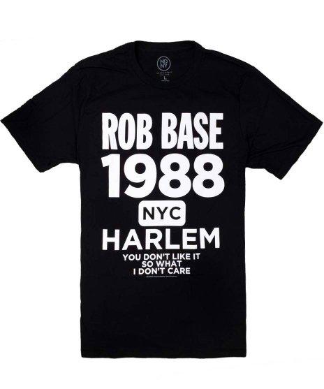 ロブ ベース ( Rob Base ) Tシャツ Harlem
