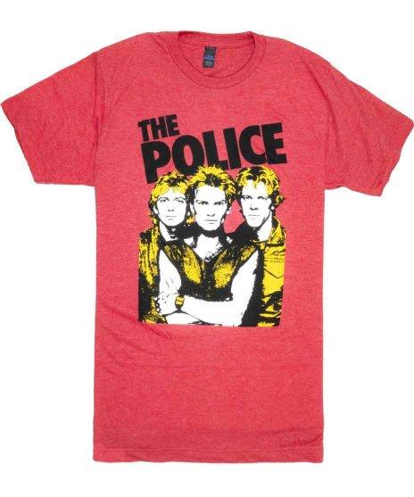 ザ ポリス ( The Police ) Tシャツ グループフォト