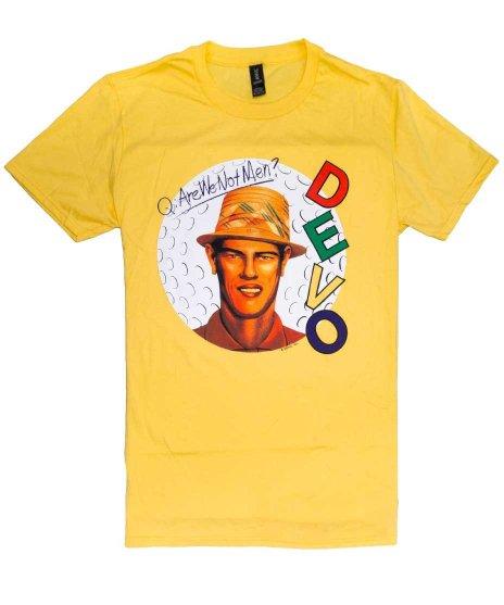 ディーヴォ ( Devo ) Tシャツ Q: Are We Not Men?