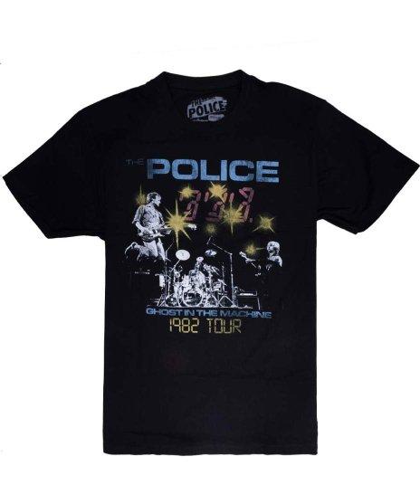 ザ ポリス ( The Police ) Tシャツ 82 Ghost Tour