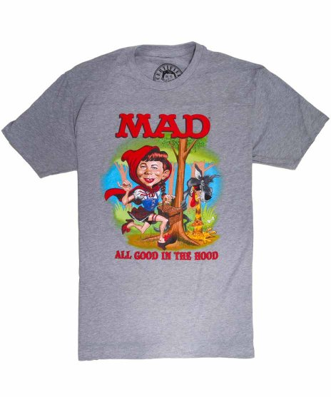 マッド マガジン ( Mad Magazine ) アメコミTシャツ Little Alfie