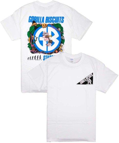 ゴリラ ビスケッツ ( Gorilla Biscuits ) Tシャツ Jungle