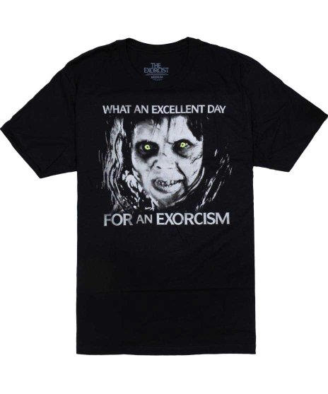 エクソシスト 映画 Tシャツ Excellent Day