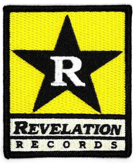 Revelation Records 刺繍バンドワッペン スターロゴ