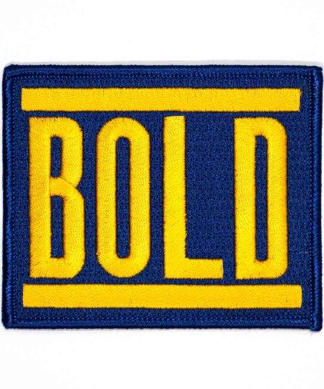 Bold 刺繍バンドワッペン ロゴ