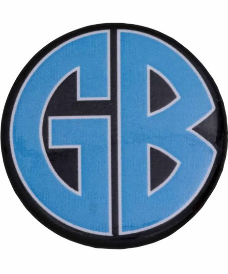 ゴリラ ビスケッツ ( Gorilla Biscuits ) バンド缶バッチ ブルーロゴ
