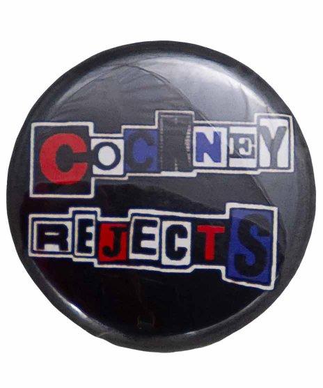 Cockney Rejects(コックニー リジェクツ) バンド缶バッジ バンドロゴ