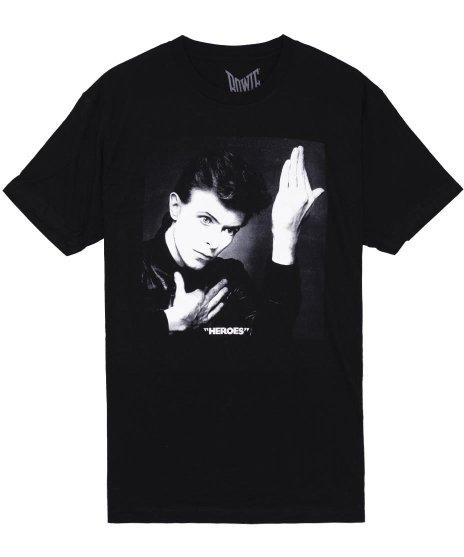 デヴィッド・ボウイ Tシャツ Heroes