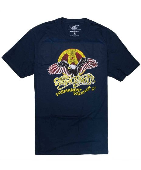 エアロスミス(Aerosmith) Tシャツ パーマネント・バケーション