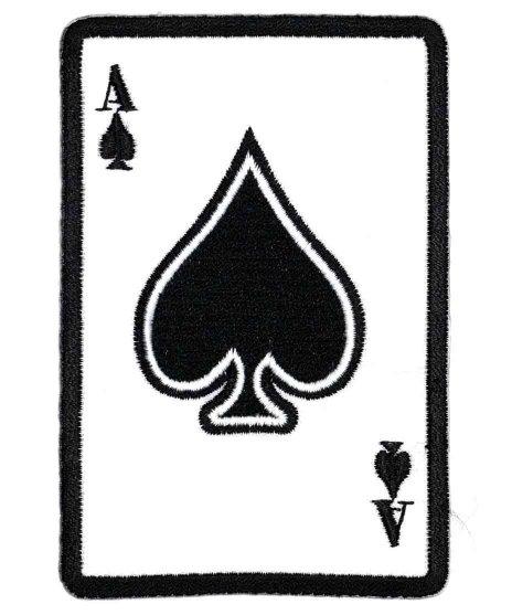 Ace Of Spades  デザインワッペン