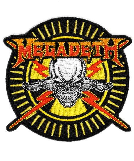 Megadeth(メガデス) バンドワッペン ラトルヘッド