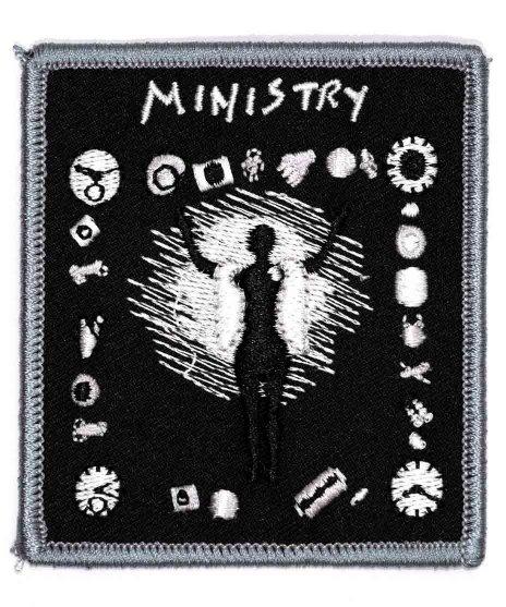Ministry(ミニストリー) バンドワッペン Psalm 69ジャケット