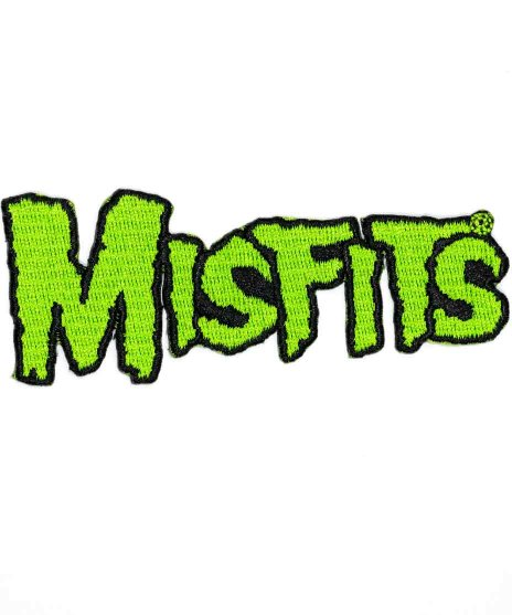 Misfits ( ミスフィッツ ) バンドワッペン グリーンバンドロゴ