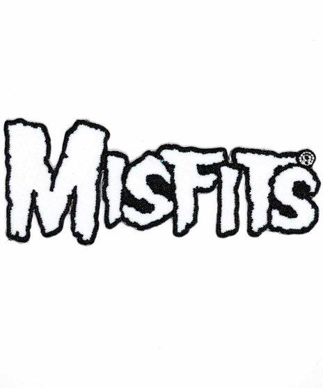 Misfits ( ミスフィッツ ) バンドワッペン ホワイトバンドロゴ