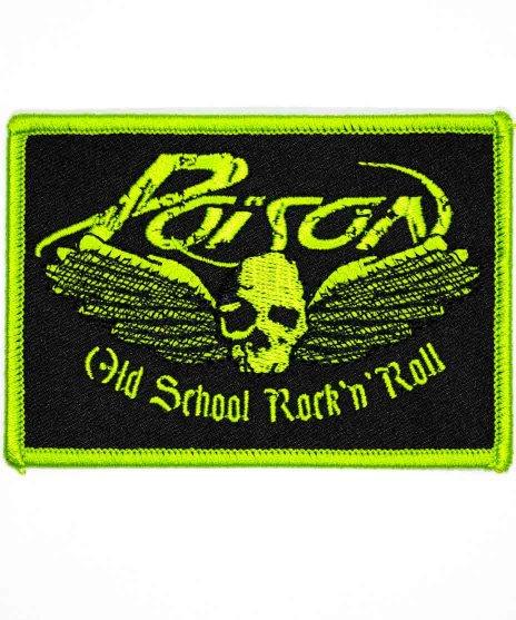 Poison(ポイズン) バンドワッペン  オールドスクールロゴ