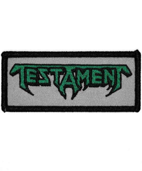 Testament(テスタメント)バンドワッペン バンドロゴ