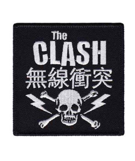 The Clash (クラッシュ) バンドワッペン Skull And Bolts