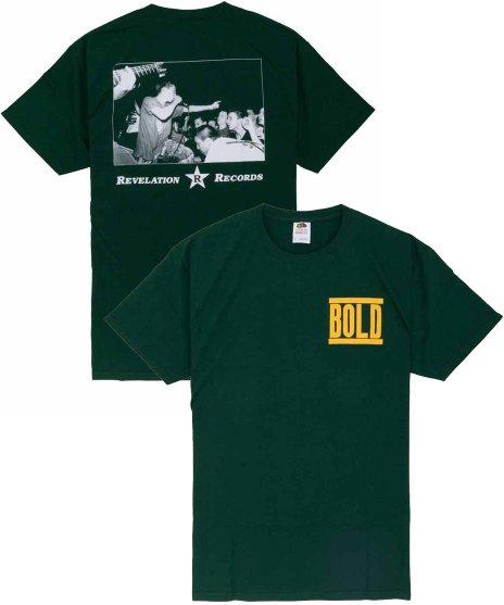 Bold Tシャツ バンドロゴ