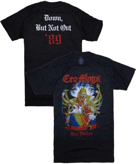 クロマグス ( Cro-Mags ) Tシャツ Down, But Not Out