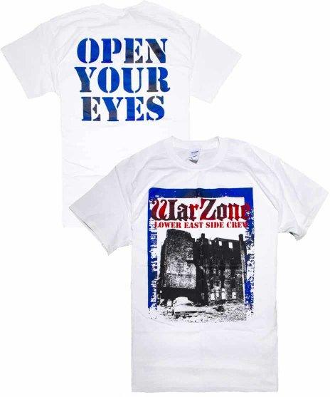 ワーゾーン ( Warzone ) Tシャツ Open Your Eyes (ポスターデザイン)