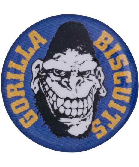 ゴリラ ビスケッツ ( Gorilla Biscuits ) バンド缶バッチ Gorillaロゴ