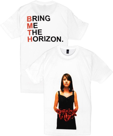 BRING ME THE HORIZON Tシャツ Suicide Season レッド