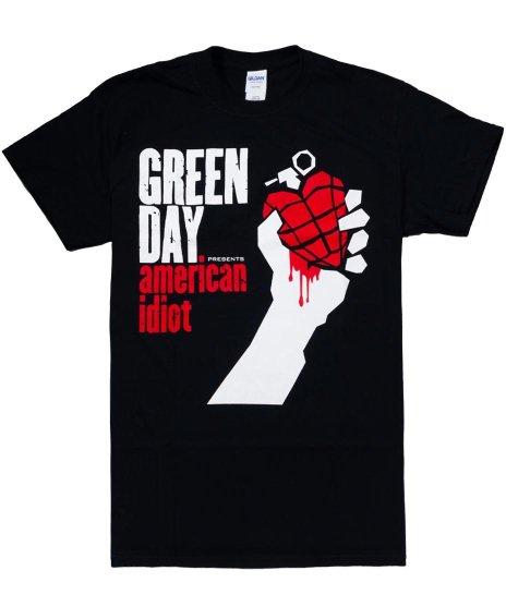グリーン デイ ( Green Day ) Tシャツ  American Idiot