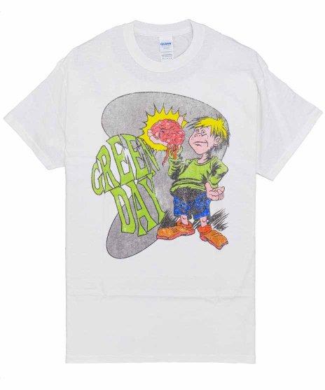 グリーン デイ ( Green Day ) Tシャツ Brain Boy