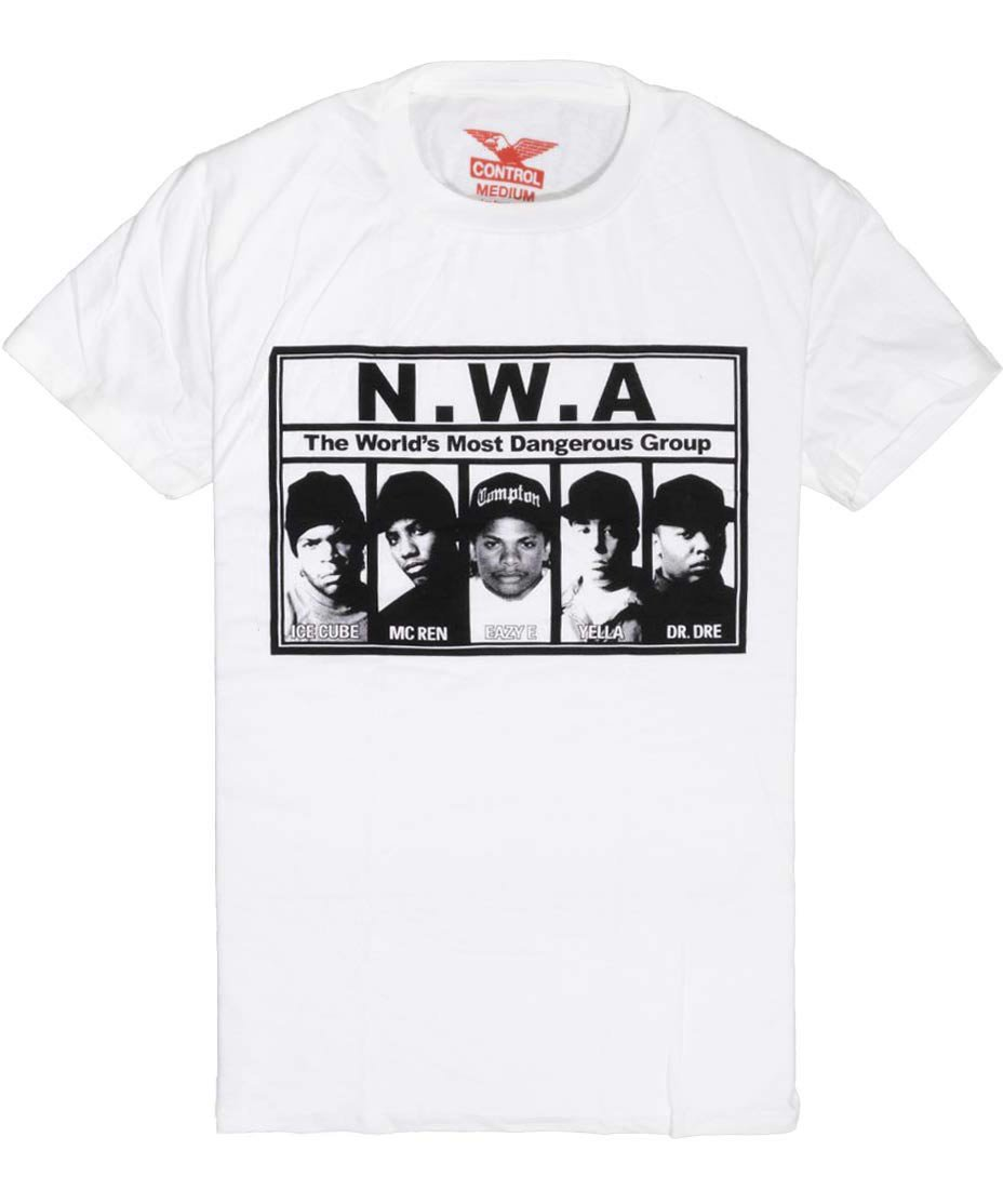 NWA Tシャツ The World's Most Dangerous Group