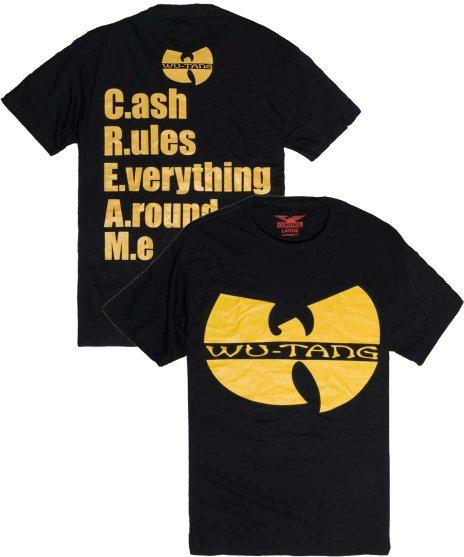 WU-TANG CLAN RAEKWON Tシャツ C.R.E.A.M.