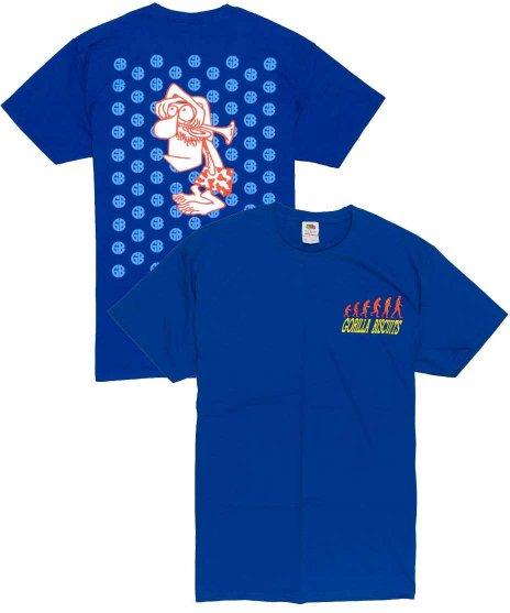 ゴリラ ビスケッツ ( Gorilla Biscuits ) Tシャツ Start Today マスタッシュマン
