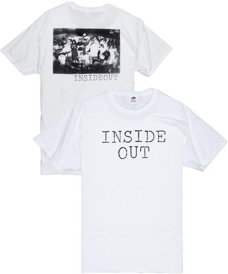 Inside Out ロゴ Tシャツ