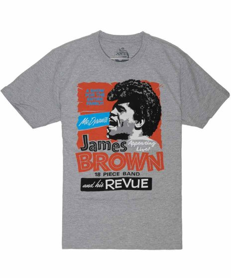ジェームス ブラウン ( James Brown ) Tシャツ James Brown and His Review