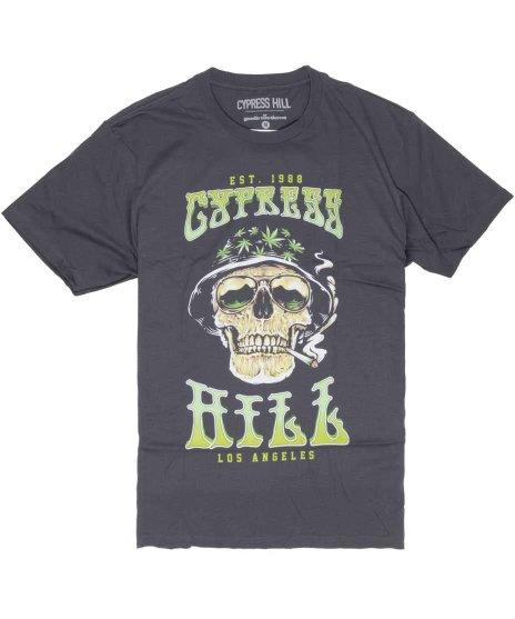 サイプレス ヒル ( Cypress Hill ) Tシャツ スモーキングスカル
