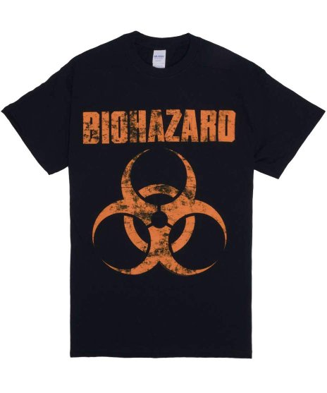 Biohazard Tシャツ Distress Logo