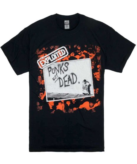 The Exploited ( エクスプロイテッド ) Tシャツ Punks Not Dead
