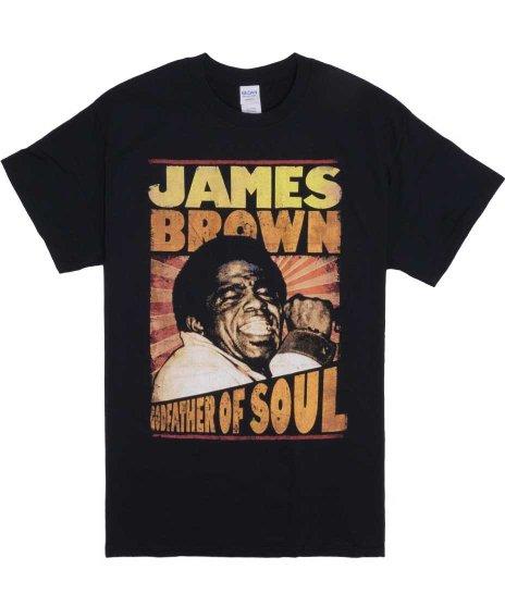 ジェームス ブラウン ( James Brown ) Tシャツ The Godfather Of Soul 2
