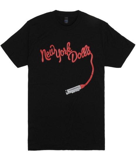ニューヨーク ドールズ ( New York Dolls ) Tシャツ リップスティックロゴ